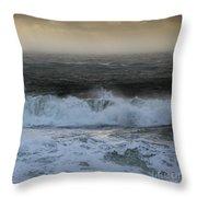 Seascape 2 The Sound  Throw Pillow