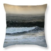 Seascape 2a The Sound Throw Pillow