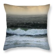 Seascape 3b The Sound  Throw Pillow