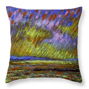 Seascape  I Throw Pillow