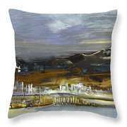 Seascape Impression In Spain 01 Throw Pillow