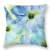 Seashell Cosmos 1 Throw Pillow