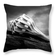 Seashell Without The Sea Throw Pillow