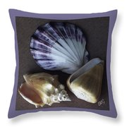 Seashells Spectacular No 30 Throw Pillow