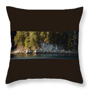 Seaside Cliffs Throw Pillow