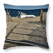 Seaside Park New Jersey Shore Throw Pillow