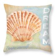 Seaside Retreat-d Throw Pillow