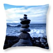 Seaside Serenity Throw Pillow