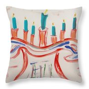 Season Of The Lights Throw Pillow