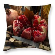 Seasonal Still-life Throw Pillow