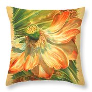 Season's End Throw Pillow