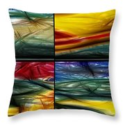 Seasons Throw Pillow