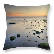 Seasunset  Dreams Throw Pillow