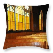 Seats In The Light Throw Pillow