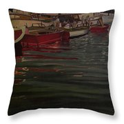 Seattle Boat Show Throw Pillow