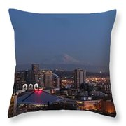Seattle City Throw Pillow