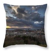 Seattle Dramatic Dusk Throw Pillow