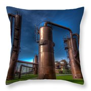 Seattle Gas Works Park Throw Pillow