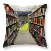 Seattle Public Library Throw Pillow