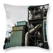 Seattle Steel And Sky Throw Pillow