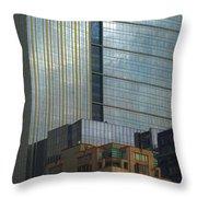 Seattle Windows Throw Pillow