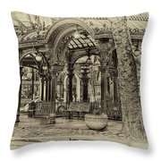 Seattle's Past Throw Pillow