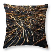 Seaweed Swamp Throw Pillow