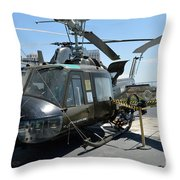 Seawolves Uh-1 Throw Pillow