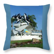 Seaworld Anticipation Throw Pillow