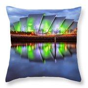 Secc Glasgow Scotland Throw Pillow