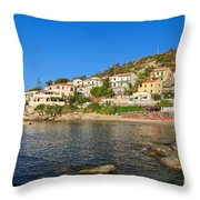 Seccheto - Elba Island Throw Pillow