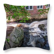 Secluded Falls #2 Throw Pillow