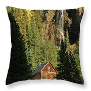 Secluded Tranquility Throw Pillow