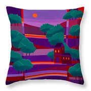 Secluded Villa Throw Pillow