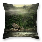 Seclusion On The Trinity Throw Pillow