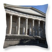 Second Bank Of The United States Throw Pillow