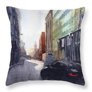 Second City Hustle Throw Pillow