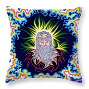 Second Coming Of Christ Throw Pillow