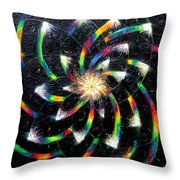 Second Day Of Creation Throw Pillow