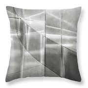Second Floor Transitions Throw Pillow