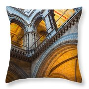 Second Story Throw Pillow