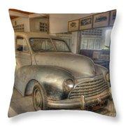 Second World War Car Throw Pillow