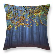 Seconds Before The Light Went Out Throw Pillow