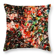 Secret Agent Throw Pillow
