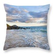 Secret Beach 2 Throw Pillow