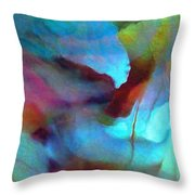 Secret Garden - Abstract Art Throw Pillow
