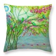 Secret Paradise Inner Bliss Throw Pillow