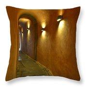 Secret Passageway In Lyon France Throw Pillow