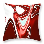 Secret Signs Throw Pillow