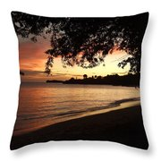 Secret Sunset Throw Pillow